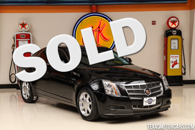 2009 Cadillac CTS RWD w1SA This Clean Carfax 2009 Cadillac CTS RWD w1SA is in excellent condition