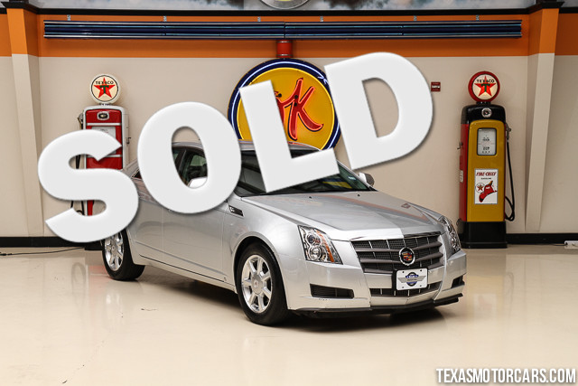 2009 Cadillac CTS RWD w1SA Financing is available with rates as low as 29 wac Get pre-approv