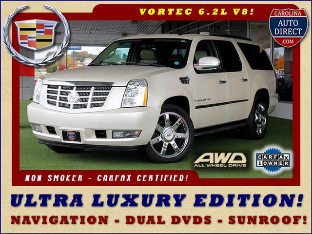 2009 Cadillac Escalade ESV AWD ULTRA LUXURY EDITION W/NAV-DUAL DVDS-SUNROOF! Mooresville , NC 54