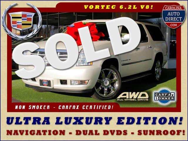 2009 Cadillac Escalade ESV AWD ULTRA LUXURY EDITION W/NAV-DUAL DVDS-SUNROOF! Mooresville , NC 0