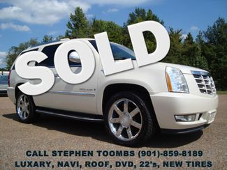 2009 Cadillac Escalade Luxary NAVI, 6.2L, ROOF, DVD, 22's, BACK-UP, NEW TIRES in  Tennessee