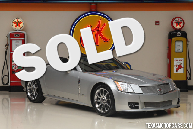 2009 Cadillac XLR V-Series This Carfax 1-Owner 2009 Cadillac XLR V-Series is in great shape with on