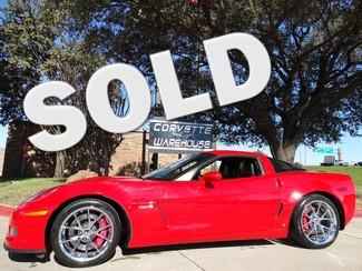 2009 Chevrolet Corvette Z06 Hardtop 3LZ, NAV, Spyder Chromes! Dallas, Texas