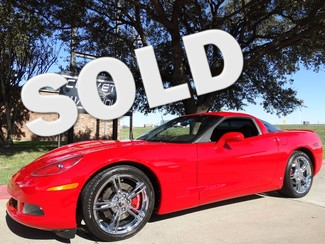 2009 Chevrolet Corvette Coupe Forged Chrome Wheels, 6 Speed, Only 16k! in Dallas, Texas