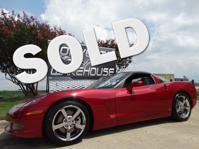 2009 Chevrolet Corvette Coupe 3LT, NAV, Auto, Glass Top, Chromes 43K! | Dallas, Texas | Corvette Warehouse