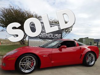 2009 Chevrolet Corvette Z06 Hardtop 3LZ, TT Seats, Chromes 27k! | Dallas, Texas | Corvette Warehouse  in Dallas Texas