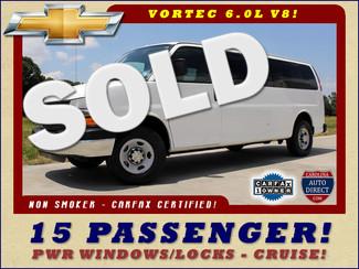 2009 Chevrolet Express 3500 LT EXT 15 PASSENGER VAN Mooresville , NC