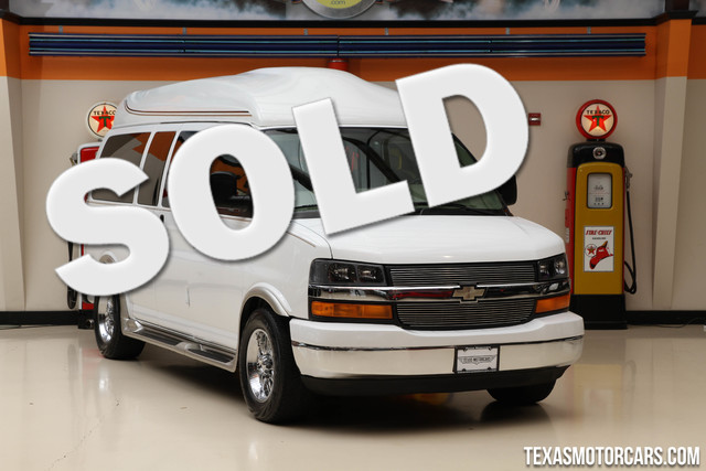 2009 Chevrolet High Top Conversion Financing is available with rates as low as 29 wac Get pre