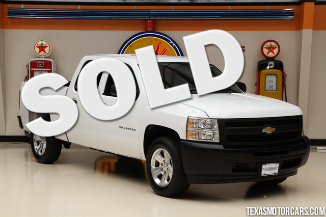 2009 Chevrolet Silverado 1500 Work Truck Financing is available with rates as low as 29 wac G