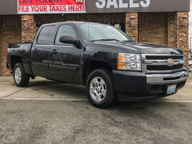 2009 Chevrolet Silverado 1500 Xtra Fuel Economy CARFAX One-Owner Clean CARFAX Black Granite Meta