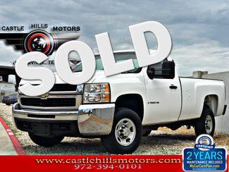 2009 Chevrolet Silverado 2500HD Work Truck | Lewisville, Texas | Castle Hills Motors in Lewisville Texas