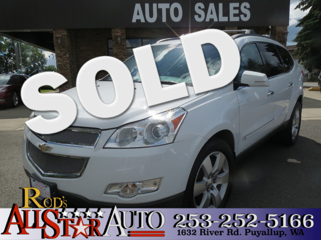 2009 Chevrolet Traverse LTZ The CARFAX Buy Back Guarantee that comes with this vehicle means that
