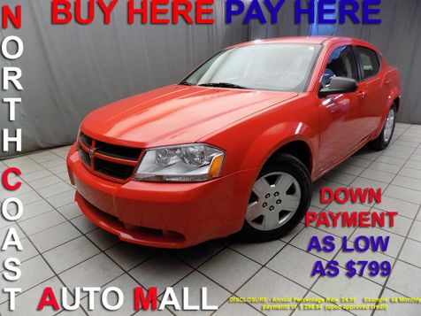 2009 Dodge Avenger SE As low as $799 DOWN in Cleveland, Ohio