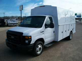 2009 Ford E450 KUV High Top Walk-In Utility Bed Waco, Texas