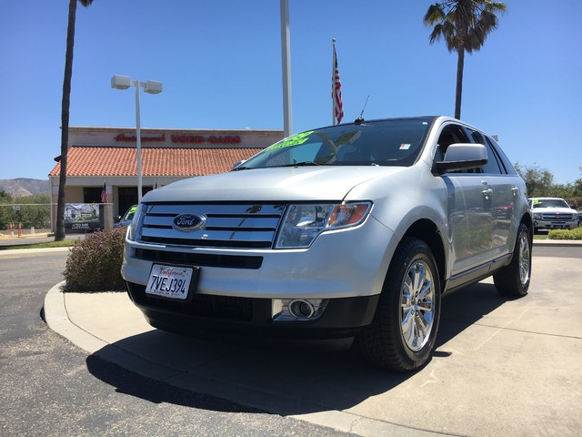 2009 Ford Edge Limited This is a 2009 Ford Edge Limited Brilliant Silver Metallic Gray Leather I