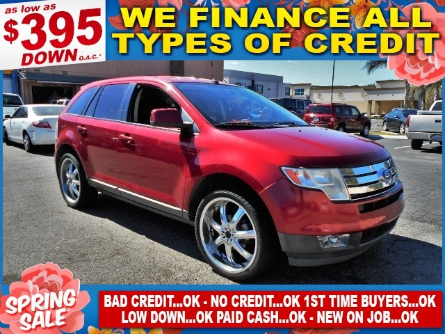 2009 Ford Edge SEL Limited warranty included to assure your worry-free purchase AutoCheck report