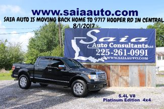 2009 Ford F150 Supercrew Platinum Crew Cab 4WD 5.4 V8 Navi Roof Sony Stereo Tow Pkg Loaded ONE OWNER SUPER CLEAN CARFAX  | Baton Rouge , Louisiana | Saia Auto Consultants LLC-[ 2 ]