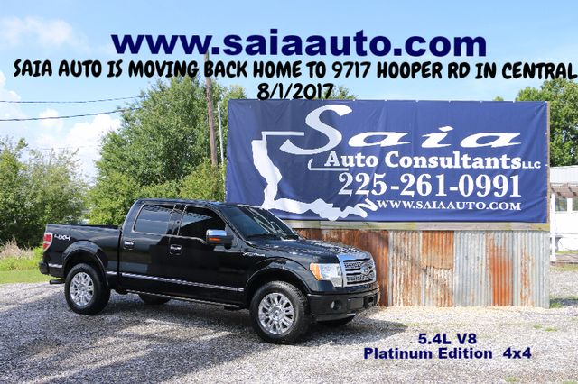 2009 Ford F150 Supercrew Platinum Crew Cab 4WD 5.4 V8 Navi Roof Sony Stereo Tow Pkg Loaded ONE OWNER SUPER CLEAN CARFAX  | Baton Rouge , Louisiana | Saia Auto Consultants LLC in Baton Rouge  Louisiana