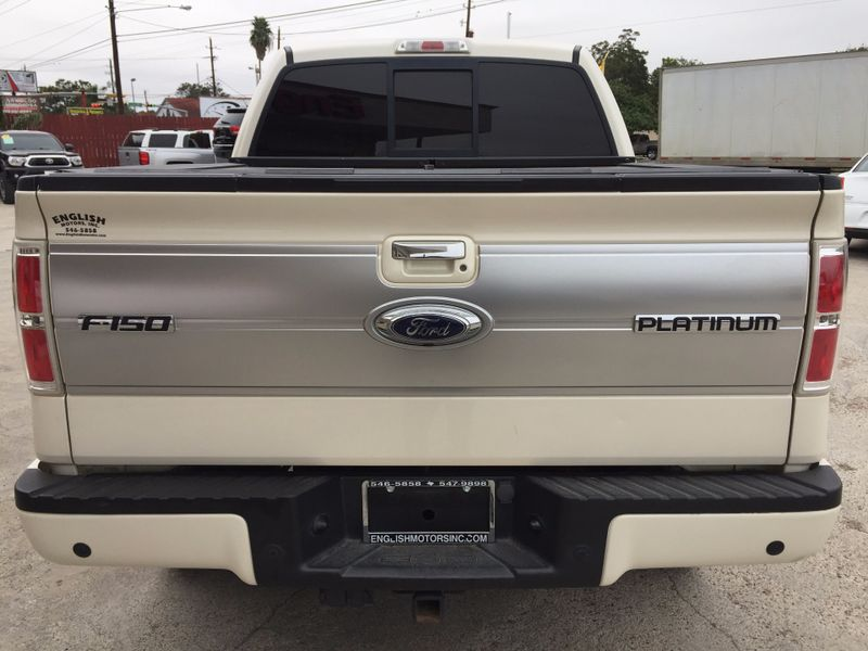 2009 Ford F-150 Platinum  Brownsville TX  English Motors  in Brownsville, TX