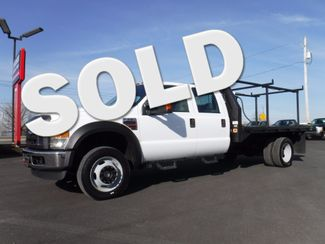 2009 Ford F550 Crew Cab 12FT Flatbed 4x4 Diesel in Lancaster, PA PA