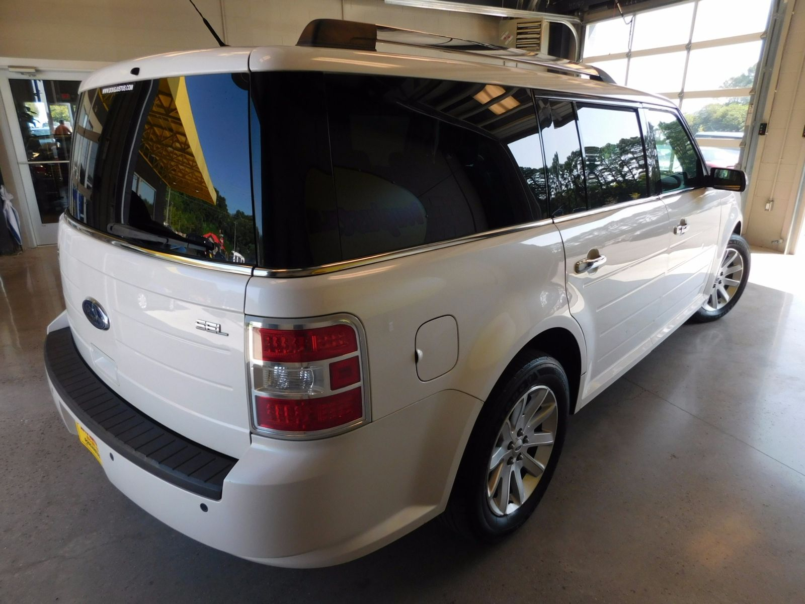2009 ford flex sel city tn doug justus auto center inc for City motors knoxville tn