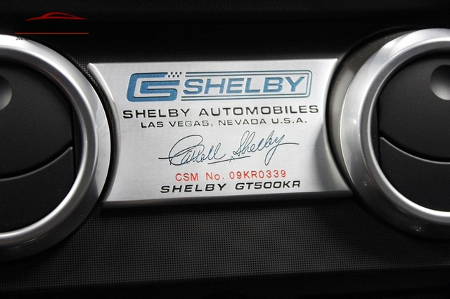 2009 Ford Mustang Shelby GT500KR Merrillville, Indiana 22