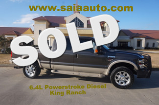 2009 Ford F 250 Crew Cab 4wd 6.4 Diesel King Ranch  Ranch Hand Bumper Boards 275/20 A/Ts