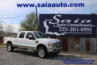 2009 Ford F 250 Crew Cab King Ranch 6.4 Diesel Fx4 4wd Navigation Roof 20s Loaded in Baton Rouge  Louisiana