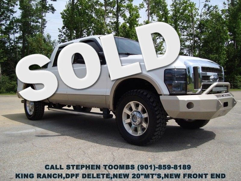 2009 Ford Super Duty F-250 SRW KING RANCH, DPF DELETE, 20's, NEW FRONT END in Memphis Tennessee