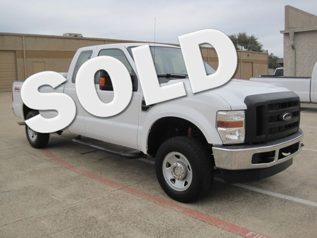 2009 Ford Super Duty F250 4x4 Off Road, Super Cab 1 Owner, Lo Miles, X/Nice. Plano, Texas 0
