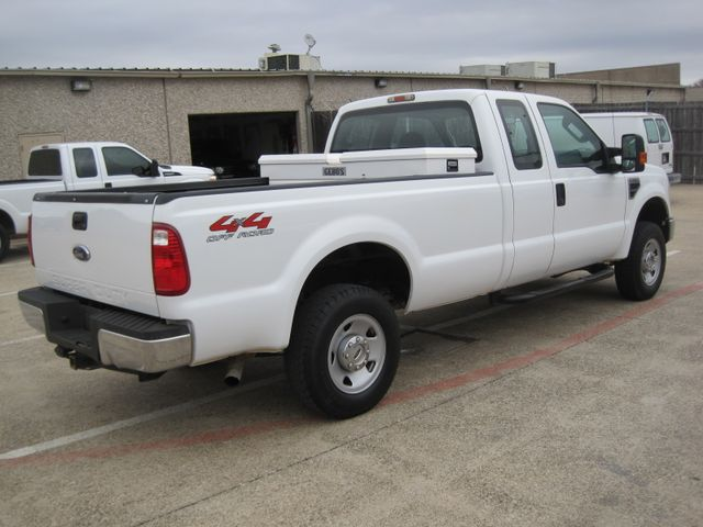 2009 Ford Super Duty F250 4x4 Off Road, Super Cab 1 Owner, Lo Miles, X/Nice. Plano, Texas 11