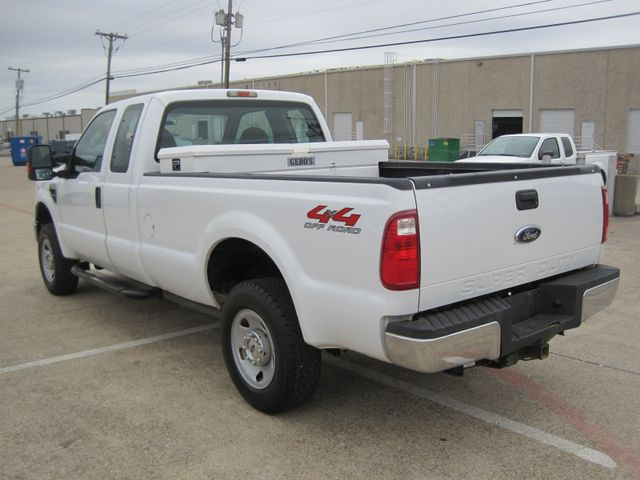 2009 Ford Super Duty F250 4x4 Off Road, Super Cab 1 Owner, Lo Miles, X/Nice. Plano, Texas 7