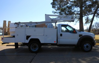 2009 Ford F-550 ,BUCKET/ BOOM TRUCK, UNDER CDL, 1 OWNER XL Irving, Texas 2