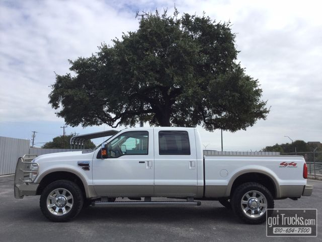 2009 Ford Super Duty F250 Crew Cab King Ranch 6.4L Power Stroke Diesel 4X4 | American Auto Brokers San Antonio, TX in San Antonio Texas