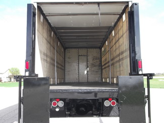 2009 Freightliner M2 24' Cargo Truck, Sliding Curtains, Lift, Auto ., . 24