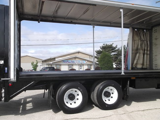 2009 Freightliner M2 24' Cargo Truck, Sliding Curtains, Lift, Auto ., . 28