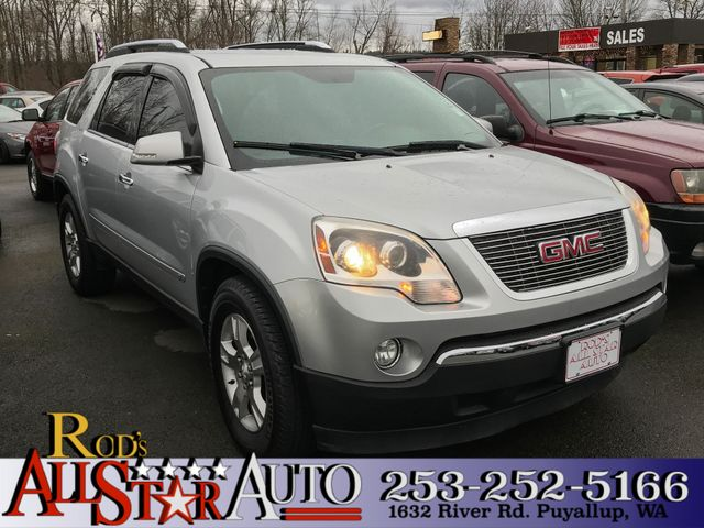 2009 GMC Acadia AWD The CARFAX Buy Back Guarantee that comes with this vehicle means that you can