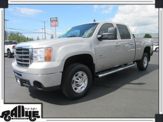 "2009 GMC Sierra 2500HD 4WD ""LEATHER"" SLT 6.6L Duramax Diesel Burlington, WA"
