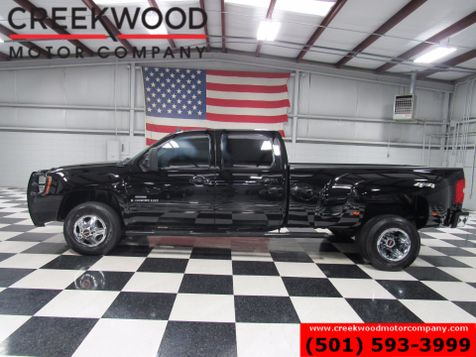 2009 GMC Sierra 3500HD SLT 4x4 Diesel Dually Leather Roof Tv Dvd Chrome in Searcy, AR