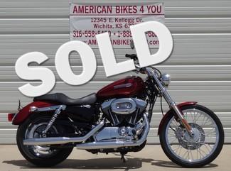 2009 Harley-Davidson 1200 Custom Sportster XL1200C Wichita, KS