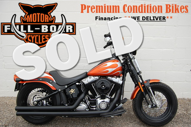 2009 Harley Davidson FLSTSB SOFTAIL CROSS BONES CROSS BONES FLSTSB in Hurst TX