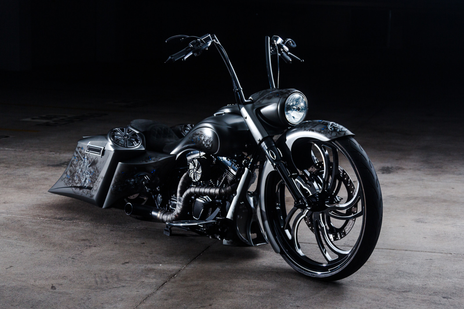 2009 Harley Davidson Famous Custom Build Show Stopper Wow