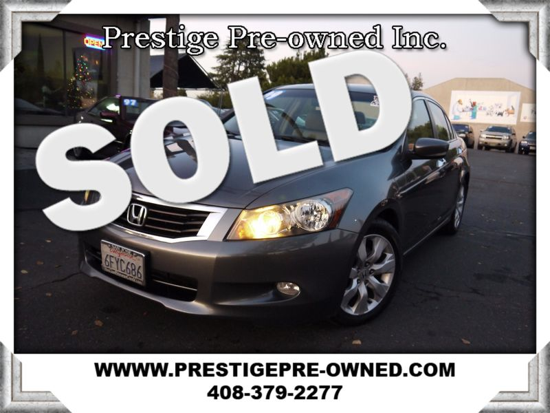 2009 Honda Accord EX-L (*LEATHER & MOONROOF*)  in Campbell CA