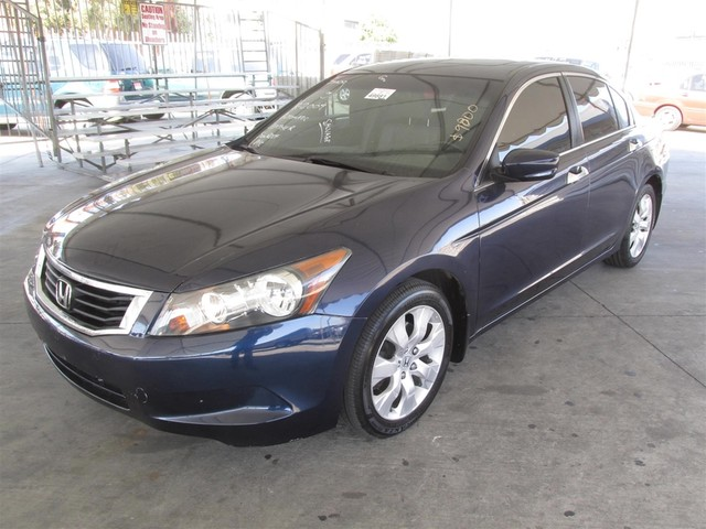 2009 Honda Accord EX-L This particular vehicle has a SALVAGE title Please call or email to check