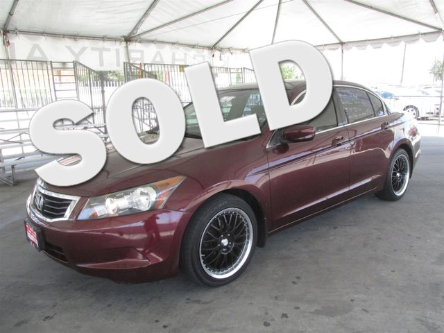 2009 Honda Accord LX-P Please call or e-mail to check availability All of our vehicles are avai