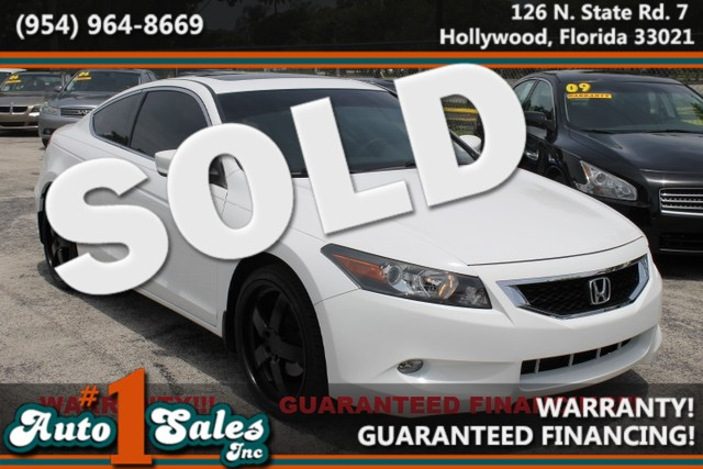 2009 Honda Accord EX-L  WARRANTY CARFAX CERTIFIED AUTOCHECK CERTIFIED 2 OWNERS 7 SERVICE RE