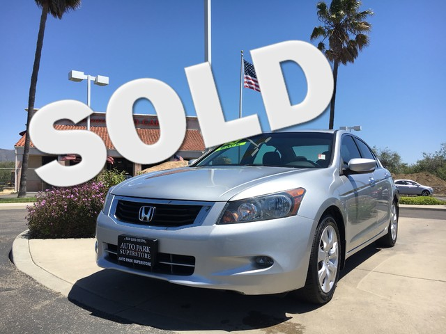 2009 Honda Accord EX-L Fine leather seats will enhance your comfort and keep your interior looking