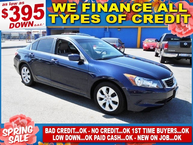 2009 Honda Accord EX-L Limited warranty included to assure your worry-free purchase AutoCheck rep