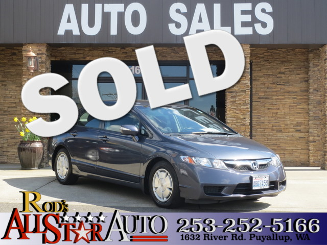 2009 Honda Civic Hybrid The CARFAX Buy Back Guarantee that comes with this vehicle means that you