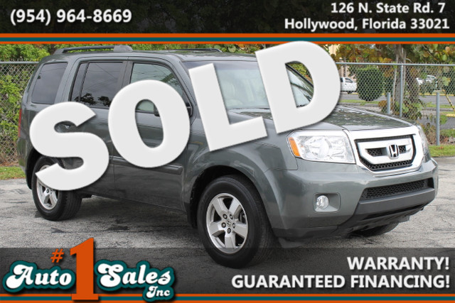 2009 Honda Pilot EX-L wRES  WARRANTY 2 OWNERS 8 PASSENGER FLORIDA VEHICLE TRADES WELCOME